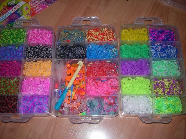 Сколько стоит набор для плетения из резинок