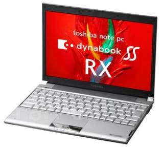 """Toshiba Dynabook SS. 12"""", 1,2ГГц, ОЗУ 1024 Мб, диск 120 Гб, WiFi, аккумулятор на 6 ч."""