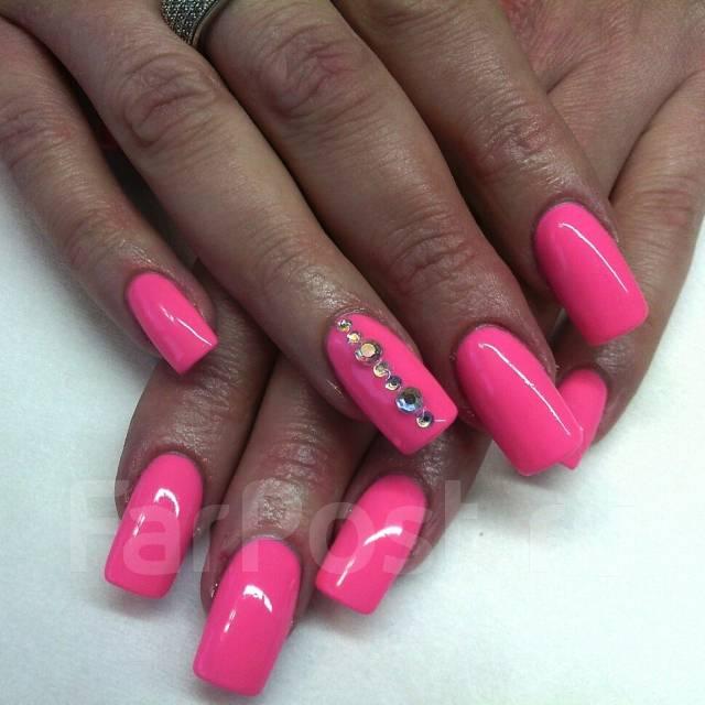 Дизайн ногтей покрытых гель-лаком. Наклейки, рисунки