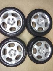 Отличный комплект колес Mercedes 205/55/16. 7.5x16 5x112.00 ET41 ЦО 1,0мм.