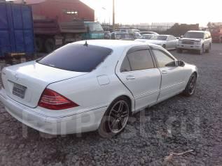 Подкрылок. Mercedes-Benz S-Class, W220, 220 Двигатель 113