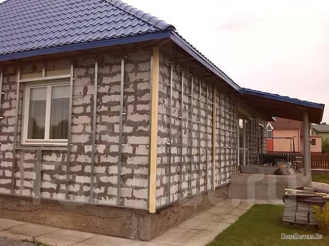 Отделка сайдингом кирпичного дома своими руками видео
