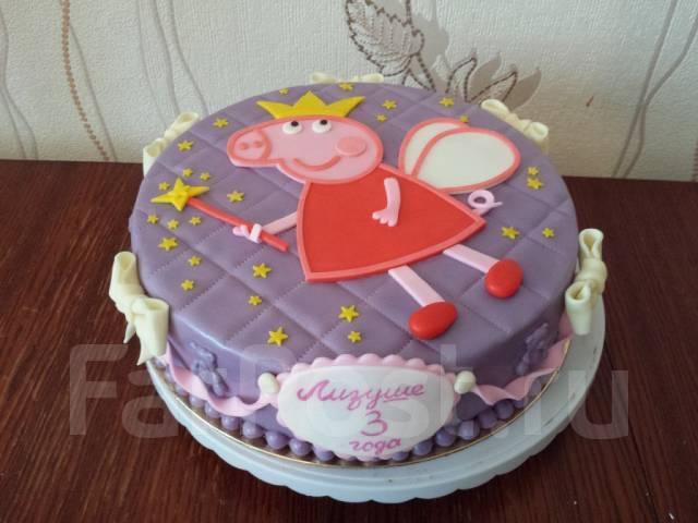 Торт пеппа на заказ