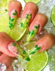 """Фимо для дизайна ногтей""""фрукты"""""""