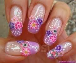 """Фимо для дизайна ногтей""""цветы"""""""