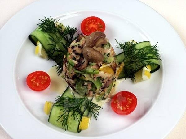 Банкетные салаты от шеф-поваров с фото