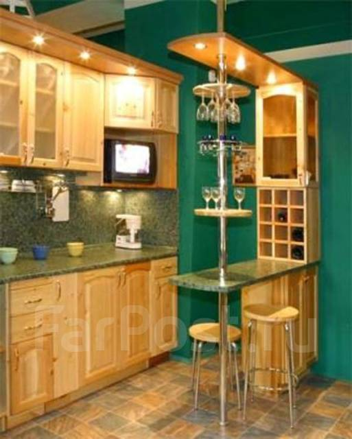 Кухня с барной стойкой своими руками фото