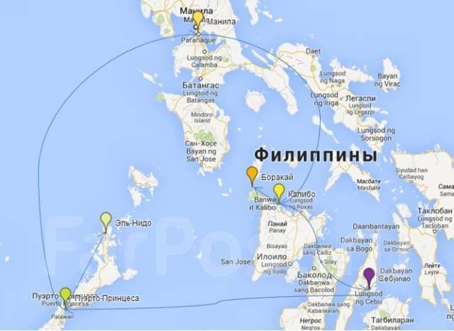 Где находиться филиппины на карте мира