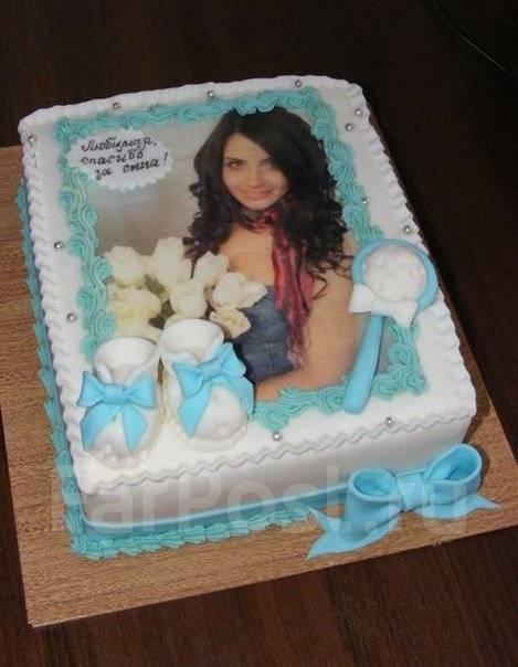 торт с фотографией своими руками