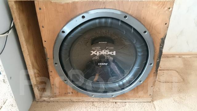 Короб для сабвуфера sony xplod 1300w