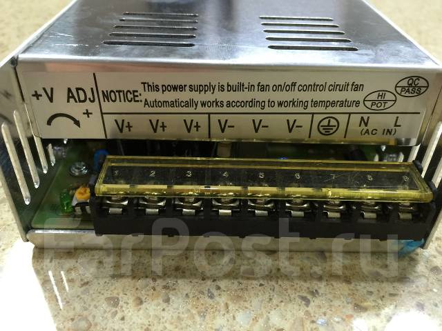 Блок питания для автомагнитолы 12 вольт