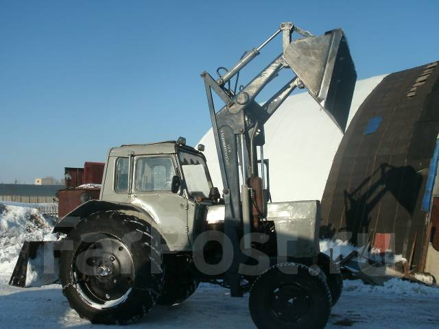 Срочно трактор мтз 80 с погрузчиком