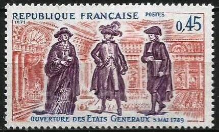 1971 франция история франции 1 марка