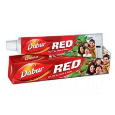 Аюрведическая зубная паста RED фирмы Dabur. 200 гр. Индия.