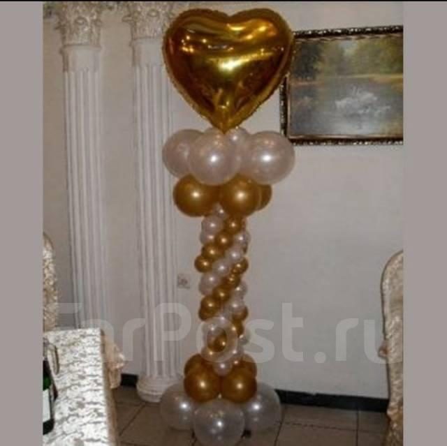 Колонны воздушных шаров своими руками