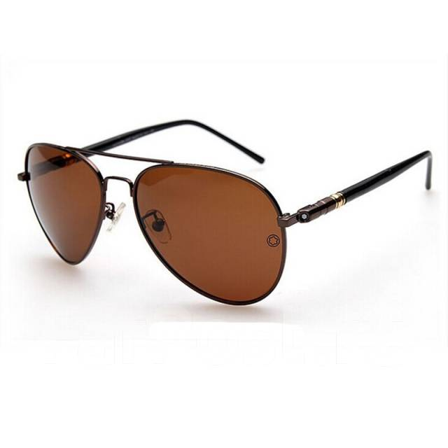 Солнцезащитные очки коричневые стекла