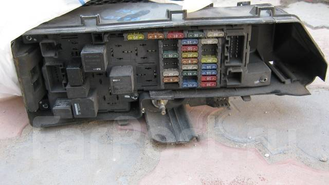 Блок предохранителей. Volvo
