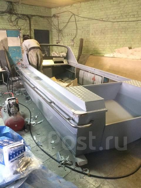 Переделка катера амур под подвесной мотор своими руками