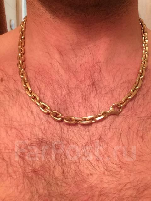 Продам золотую цепочку якорного плетения