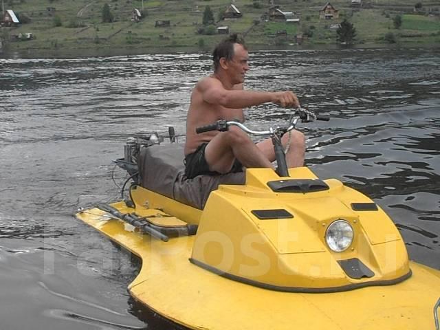 Самодельный гидроцикл с подвесным мотором HandMade - Гидроциклы в Железногорске-Илимском