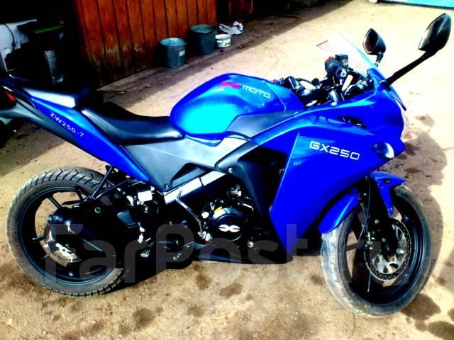 GX250, 2014 Иркутск - X-Moto GX 250, 2014 - Продажа мотоциклов в Зиме