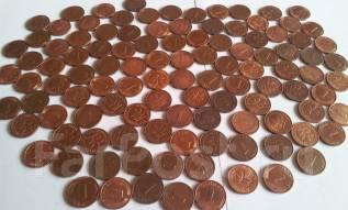 Германия (ФРГ). 110 монет по 1 пфеннигу! Начиная с 49 г. Без повторов!