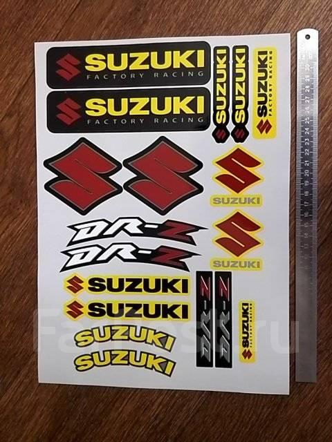 suzuki rf наклейки