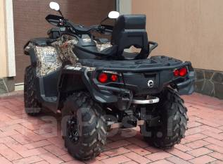 BRP Can-Am Outlander Max 650. ��������, ���� ���, � ��������