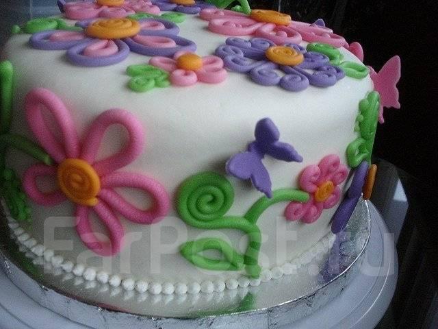 Торт с мастикой своими руками для начинающих