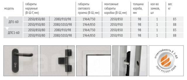 ширина двери металлические