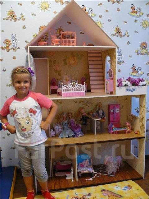 Дом для кукол своими руками видео для кукол барби