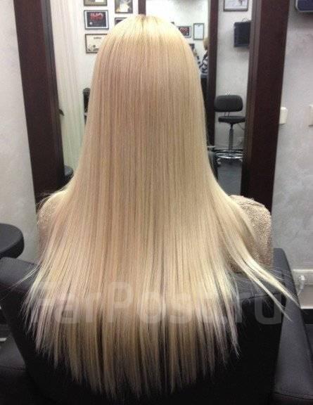 Покраска волос в блондинку мастер класс