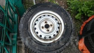 Продам зимние колеса 165/R13LT Bridgestone. x13 4x100.00