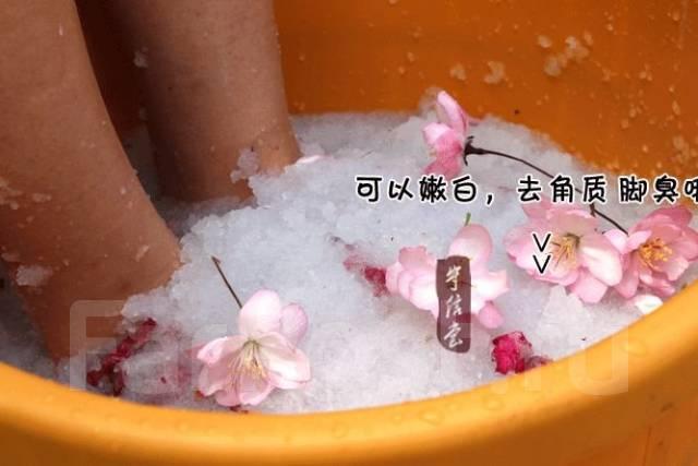 Ленивый педикюр ванночка-желе