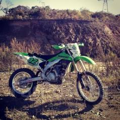Kawasaki KLX 450R. ��������, ���� ���, � ��������