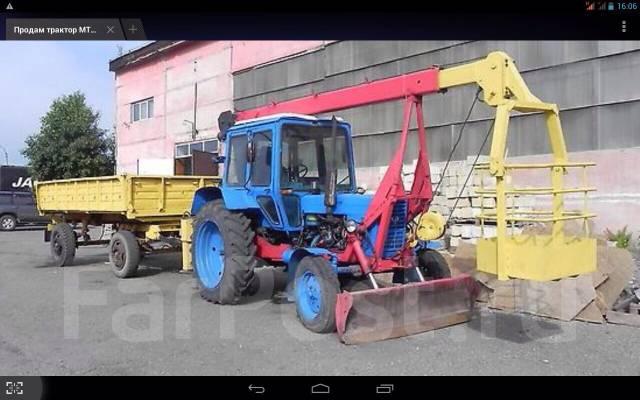 Телега тракторная мтз в городе Нефтекамске. Цена 100 рублей