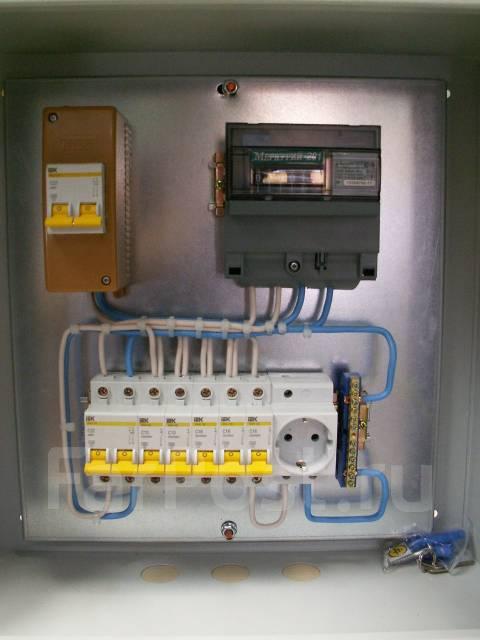 Электрический щиток для гаража