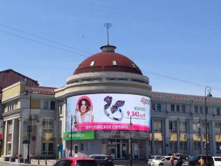 "LED-экраны и Медиа-фасады с завода ""под ключ"" от 49 900 руб. / кв. м."