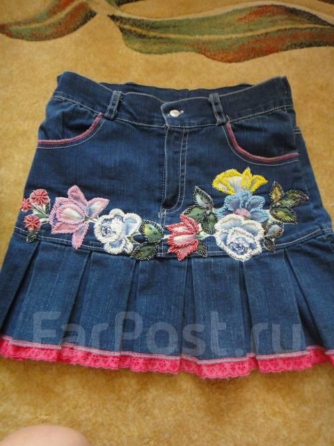 На девочек летом юбки