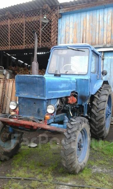 Трактор МТЗ 82 Беларус с навесным оборудованием - YouTube