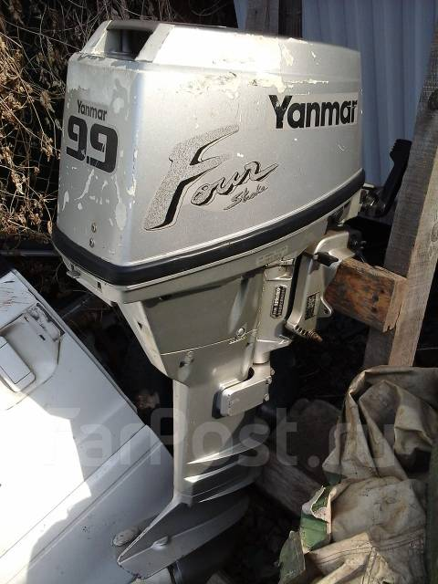 продам б у лодочный мотор yamaha
