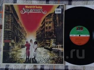 Супермакс! Supermax - World of Today 1977 DE LP
