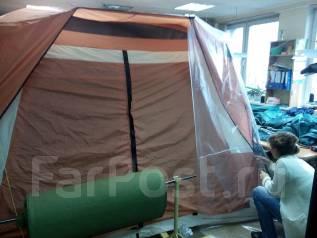 Ремонт палаток, тентов, тюбингов. Пошив чехлов и сумок на инвентарь
