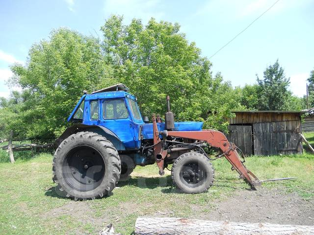 Мтз-80 с куном в Металлургическом районе. Цена 250 рублей