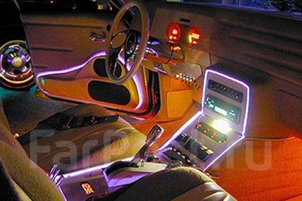Своими руками подсветка для машины