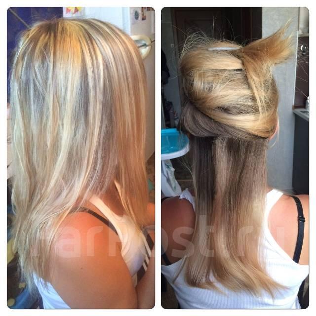 Я предлагаю услуги: мелирование волос( классическое, поверхностное, прикорневое)
