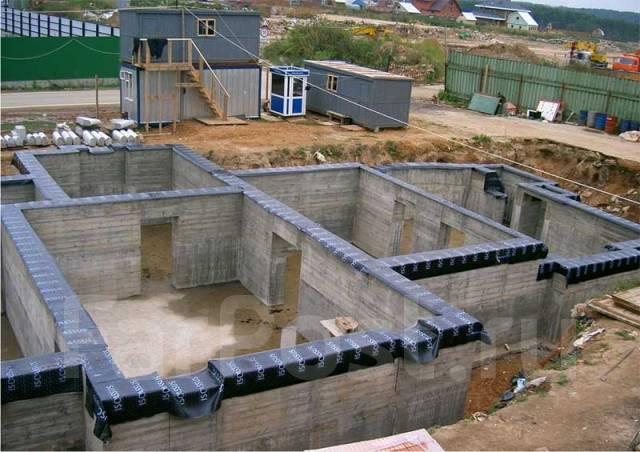Строительство дома своими руками фундамент