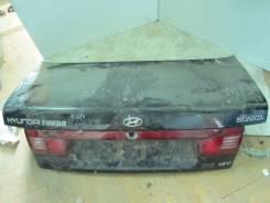 Крышка багажника. Hyundai Sonata, II