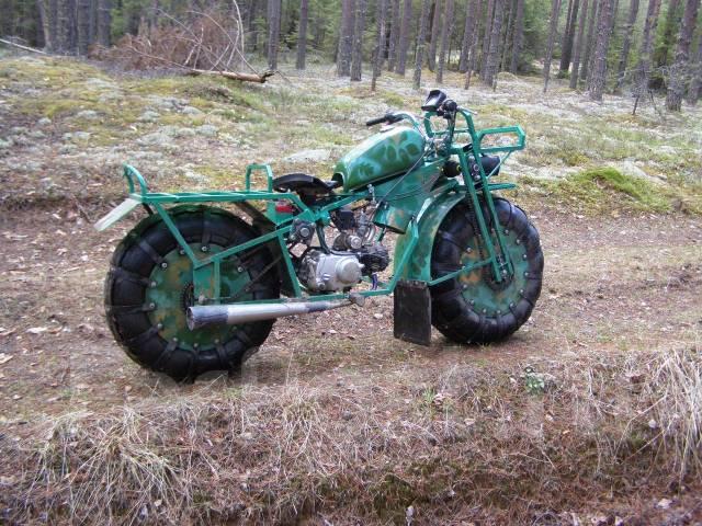 Авто самоделки из мотоцикла