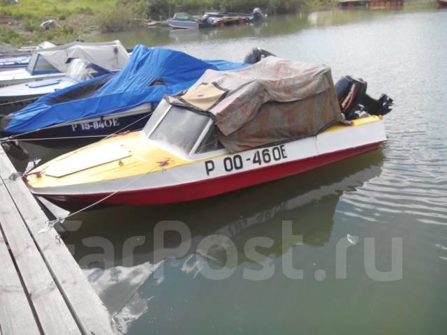 Продается моторная лодка ОБЬ-М мотор ...: omsk.water.drom.ru/prodaetsja-motornaja-lodka-ob-m-motor-merkurij...